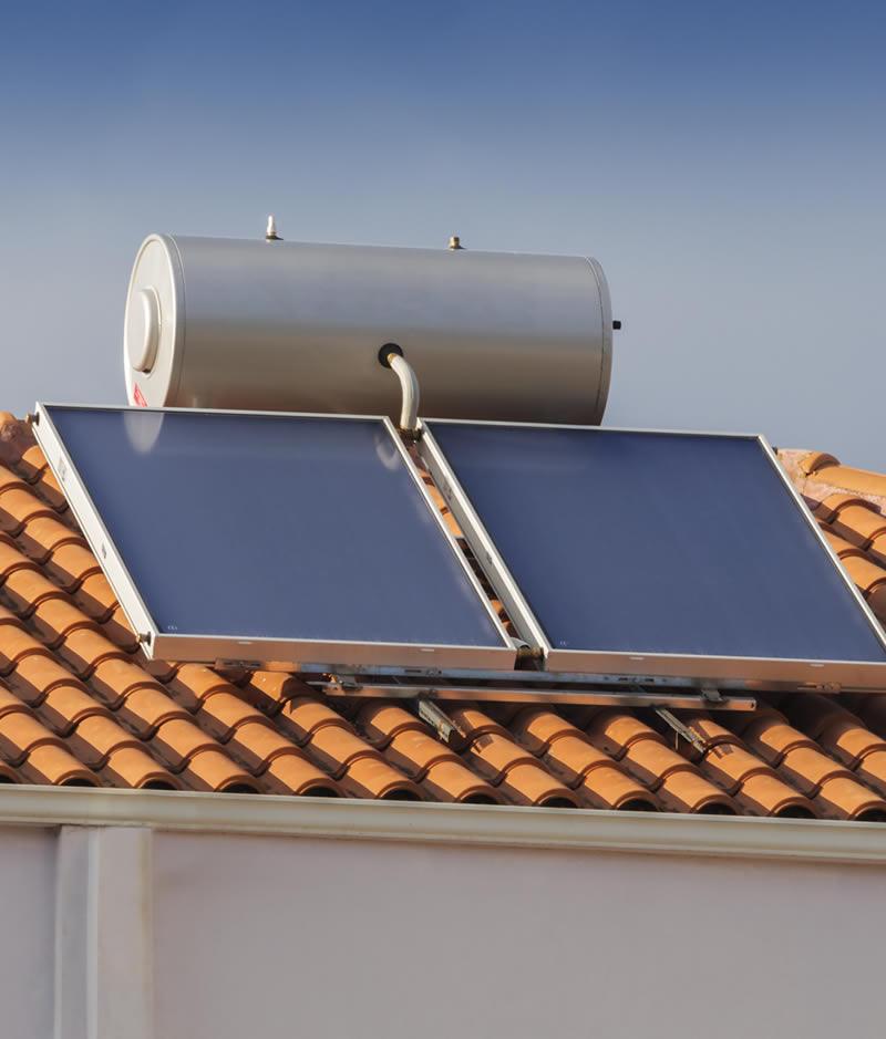 Solar Hot Water at Verde Sol-Air